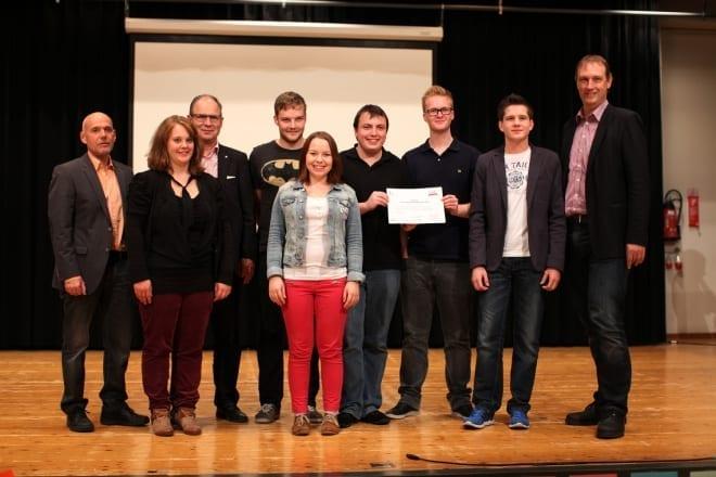 Erfolg am regionalen Jugendprojektwettbewerb