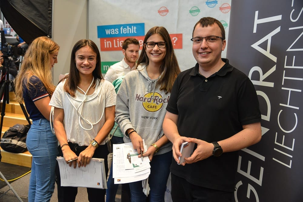 Was fehlt den Jugendlichen in Liechtenstein?
