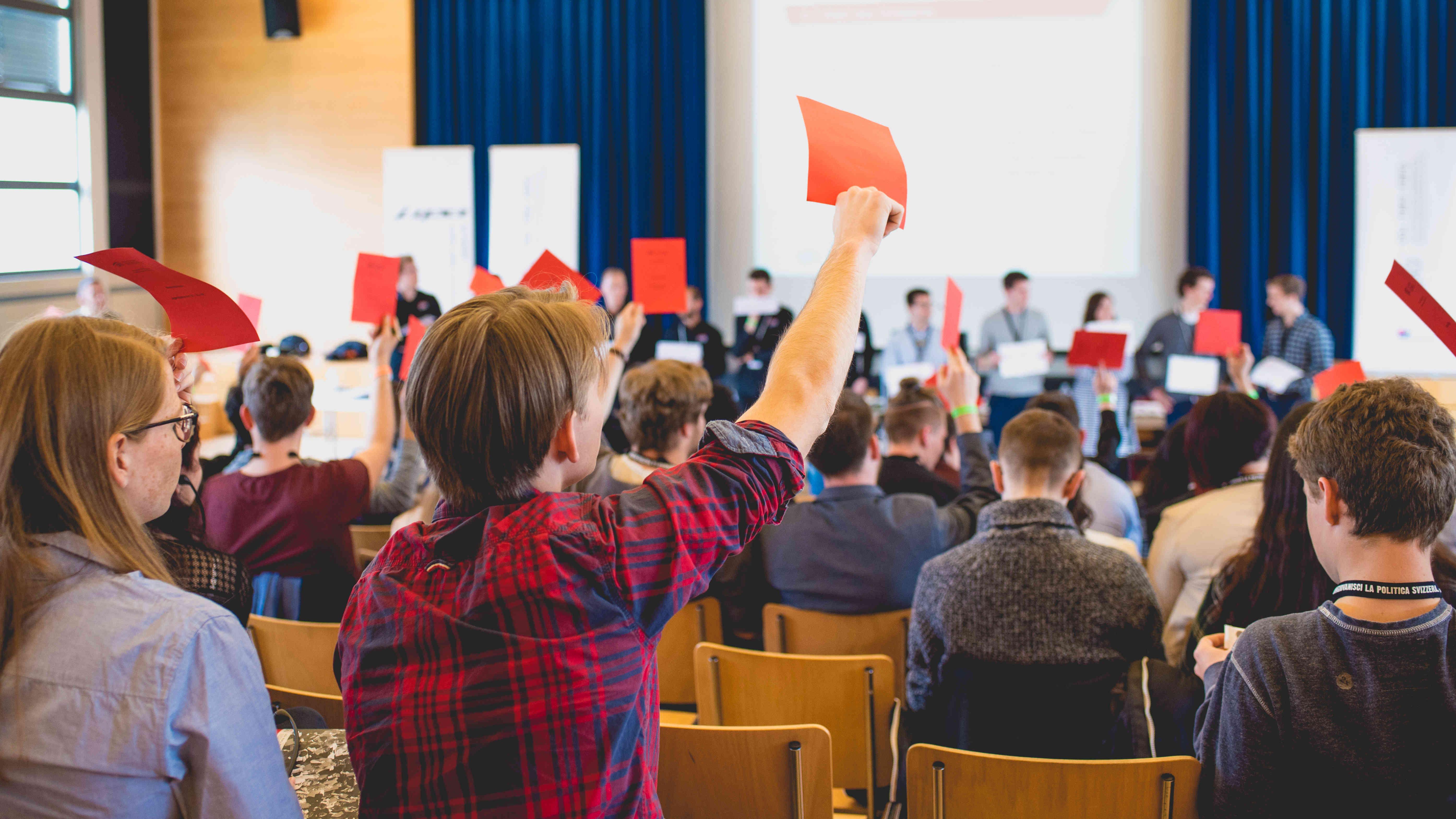 150 politisch engagierte Jugendliche zu Gast in Liechtenstein
